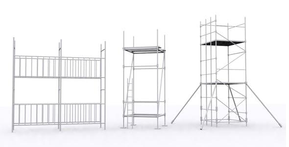 Industrial Props Mdeling - 3DOcean Item for Sale