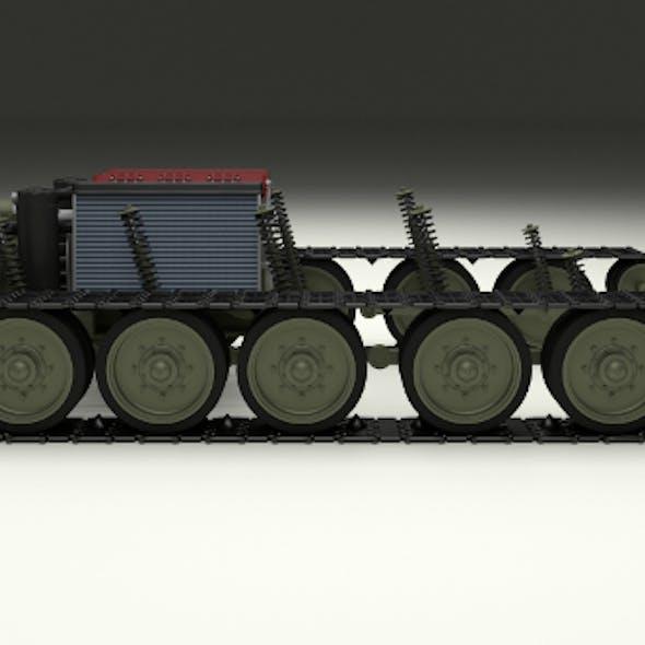 T34 Tank Drivetrain