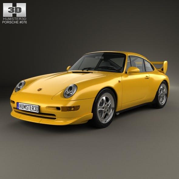 Porsche 911 Carrera RS Clubsport (993) 1995 - 3DOcean Item for Sale