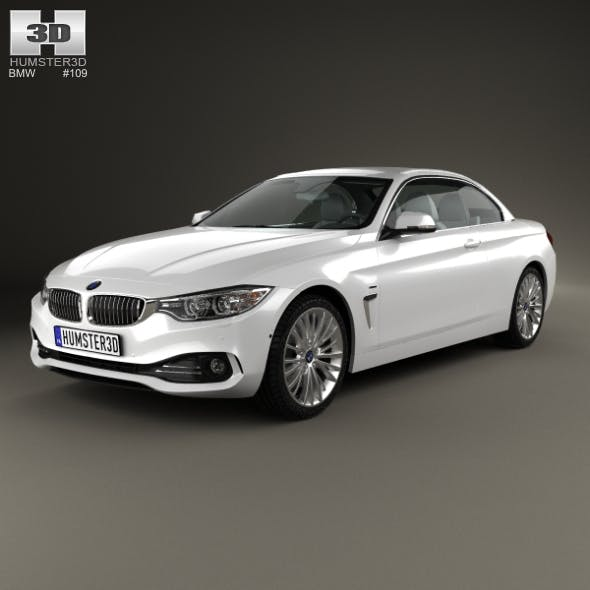 BMW 4 Series (F33) convertible Luxury Line 2013 - 3DOcean Item for Sale
