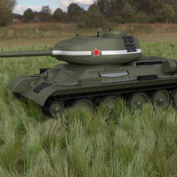 T-34/85 Tank HDRI
