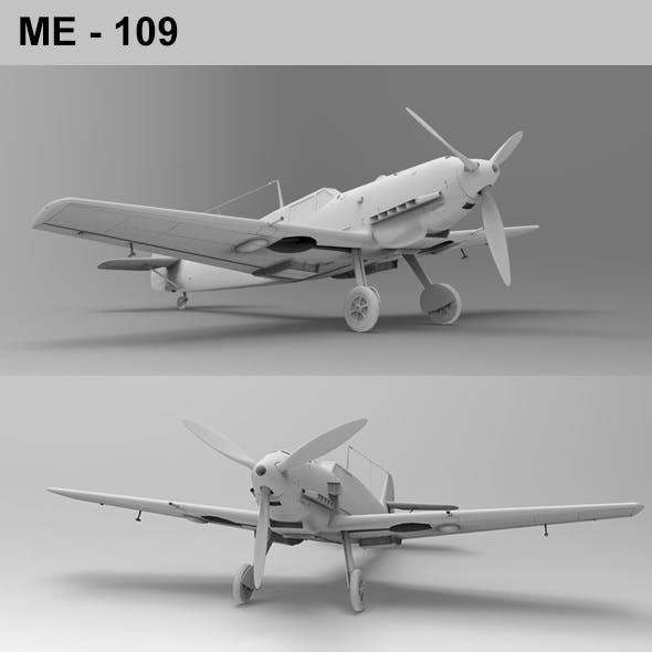 ME 109 Fighter Aircraft