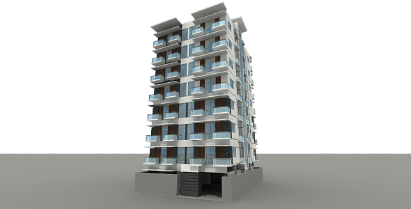 Building - 3DOcean Item for Sale