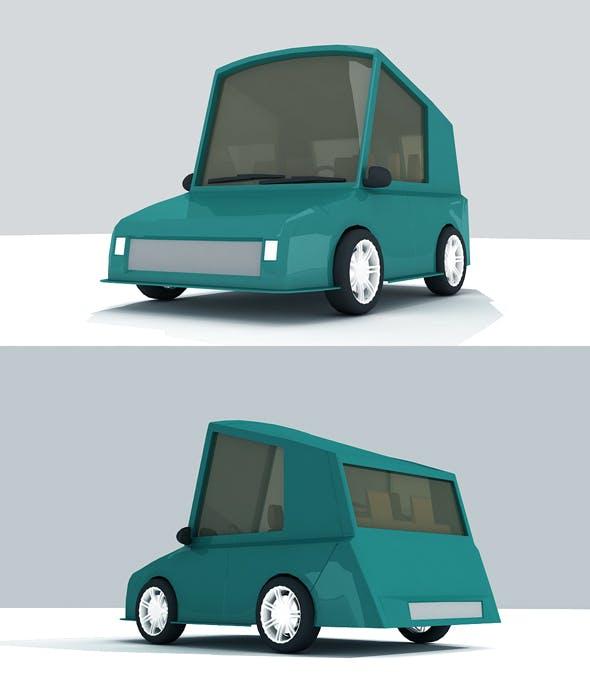 3d Car Model - 3DOcean Item for Sale