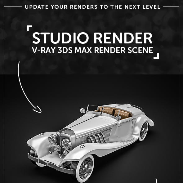 Professional V-Ray Studio Render