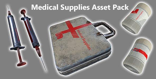 Medipack Game Asset - 3DOcean Item for Sale