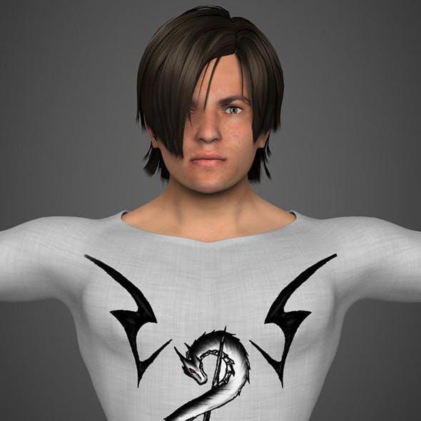 Harry 3D Model