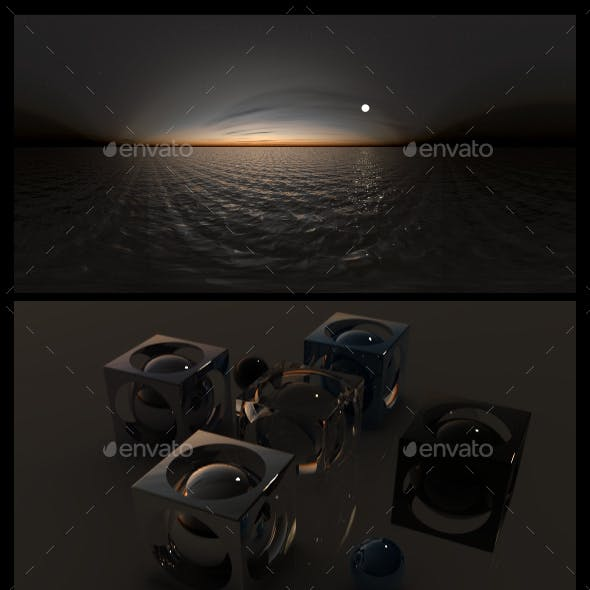 Ocean Night 2 - HDRI