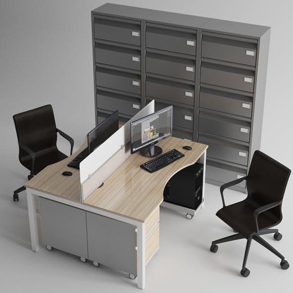 Office Furniture - 3DOcean Item for Sale