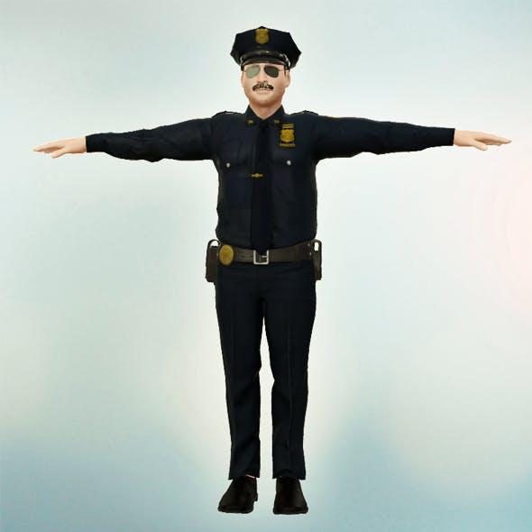 Police Officer - 3DOcean Item for Sale