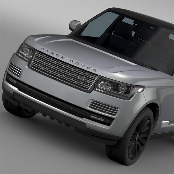 Range Rover SVAutobiography L405 2016 - 3DOcean Item for Sale