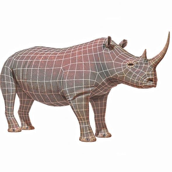 Rhino Base Mesh