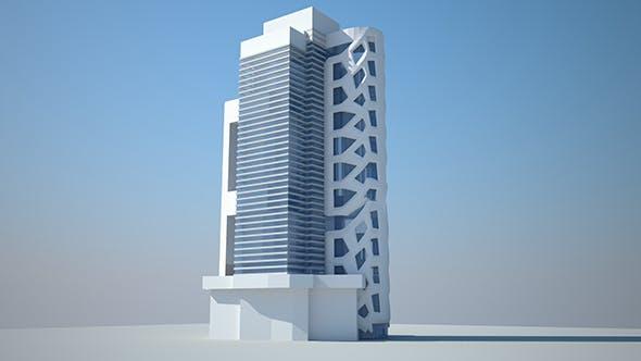 Low Building Design  - 3DOcean Item for Sale