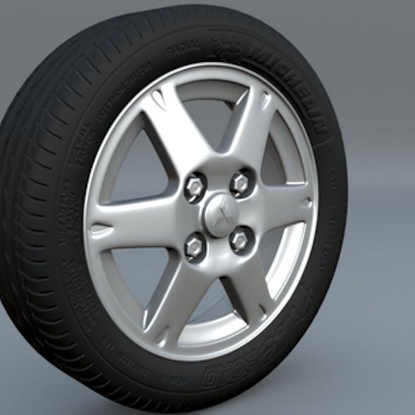 tire rim scene file