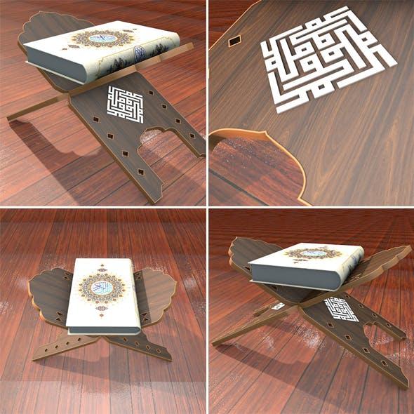 Quran And rahel - 3DOcean Item for Sale