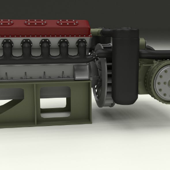 T-34 Engine and Transmission