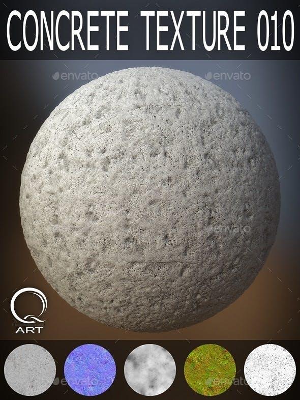 Concrete Textures 010 - 3DOcean Item for Sale