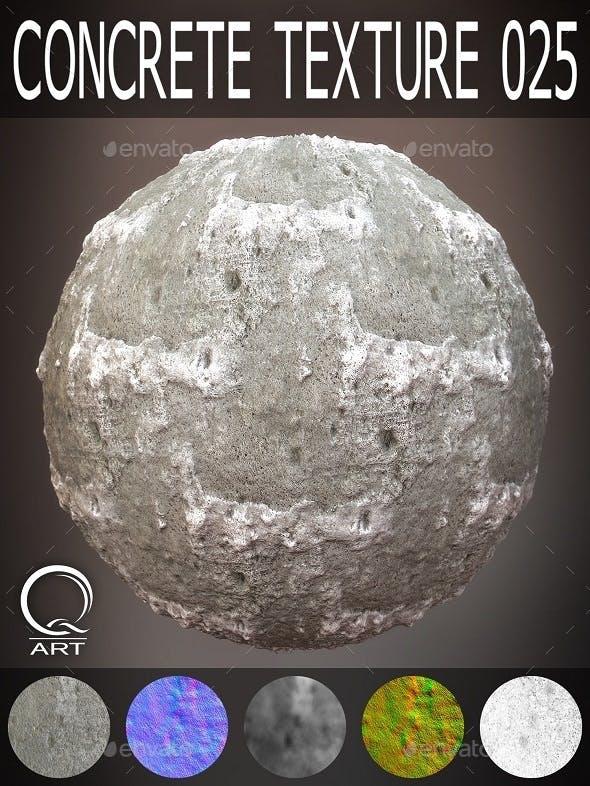 Concrete Textures 025 - 3DOcean Item for Sale