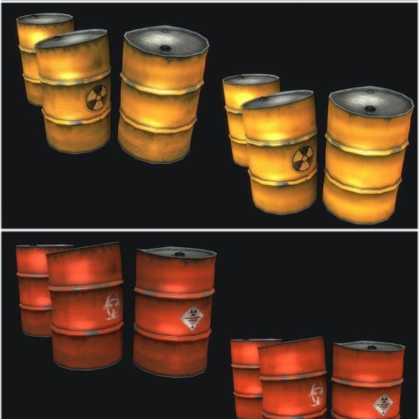 Metal Barrels Collection