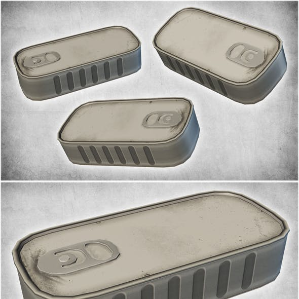 Small Metal Can