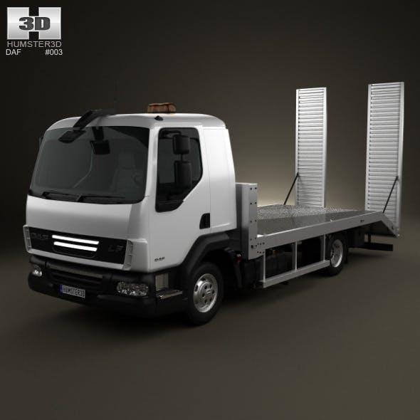 DAF LF Car Transporter 2011 - 3DOcean Item for Sale