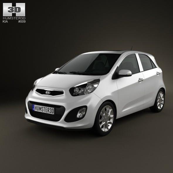 Kia Picanto (Morning) 5-door 2012 - 3DOcean Item for Sale