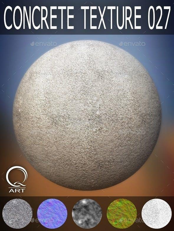 Concrete Textures 027 - 3DOcean Item for Sale