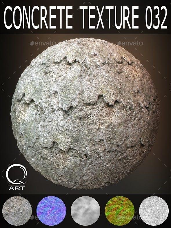 Concrete Textures 032 - 3DOcean Item for Sale