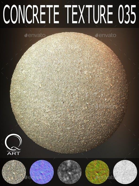 Concrete Textures 035 - 3DOcean Item for Sale