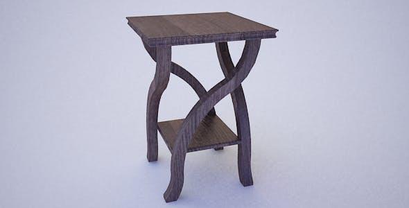 Corner table - 3DOcean Item for Sale