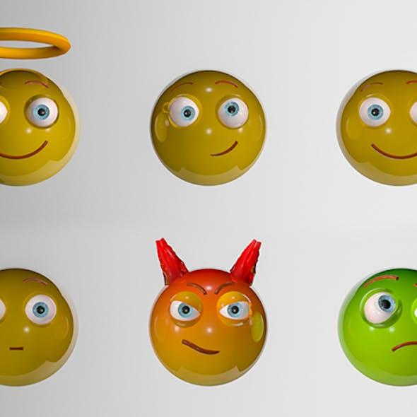 6 Emoticons