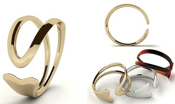 Minimalist Ring - 3DOcean Item for Sale