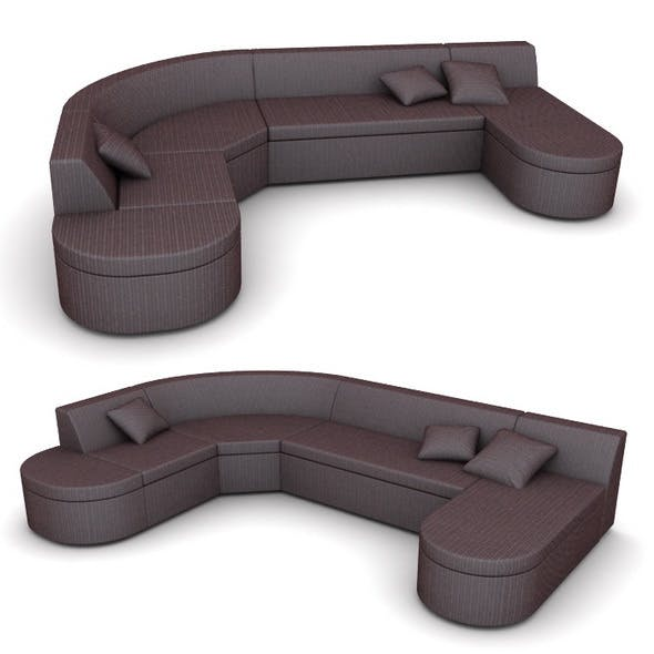 Corner sofa modular - 3DOcean Item for Sale