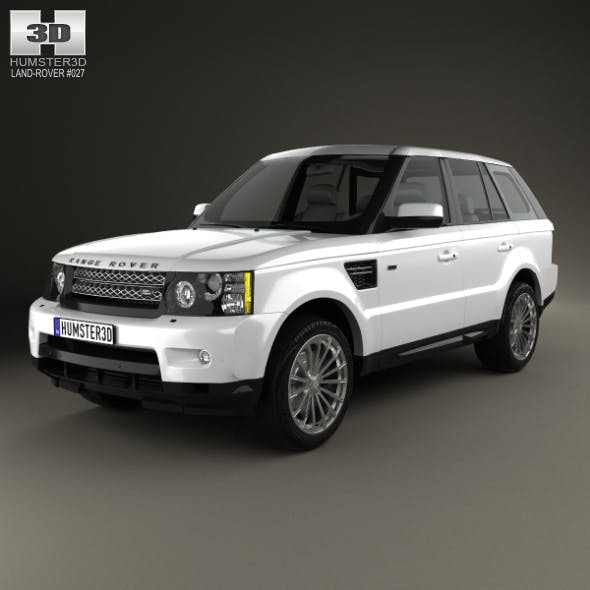 Land Rover Range Rover Sport 2009 By Humster3d