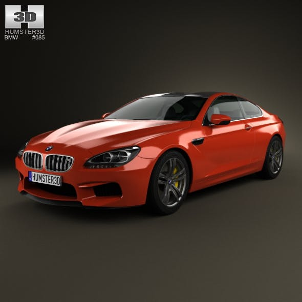 BMW M6 (F13) Coupe 2012 - 3DOcean Item for Sale
