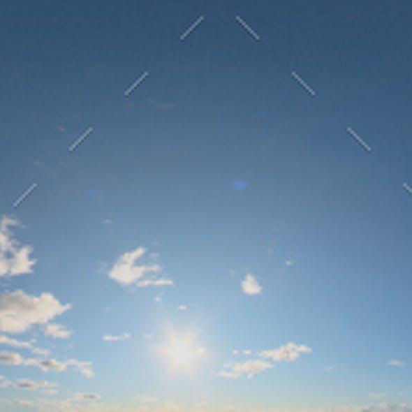 Skydome HDRI - Sunset Clouds VI