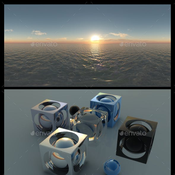 Ocean Dawn 9 - HDRI