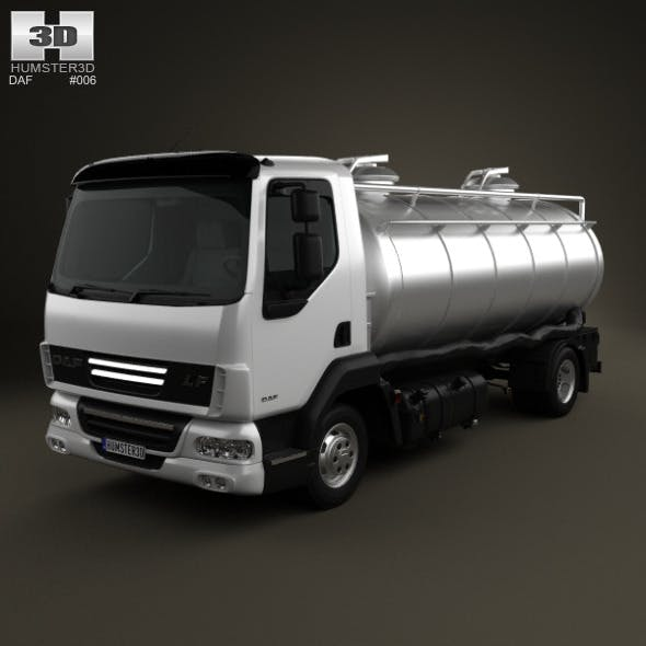 DAF LF Tanker 2011 - 3DOcean Item for Sale