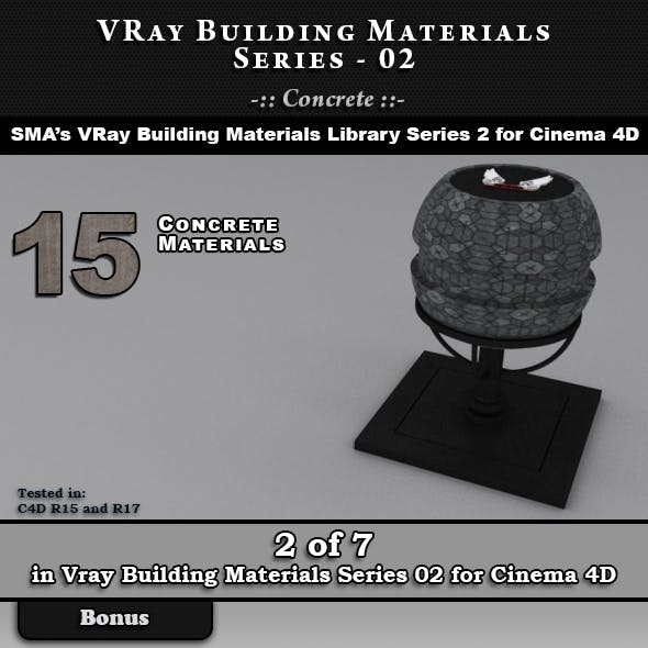 VRay Building Materials S02 - Concrete