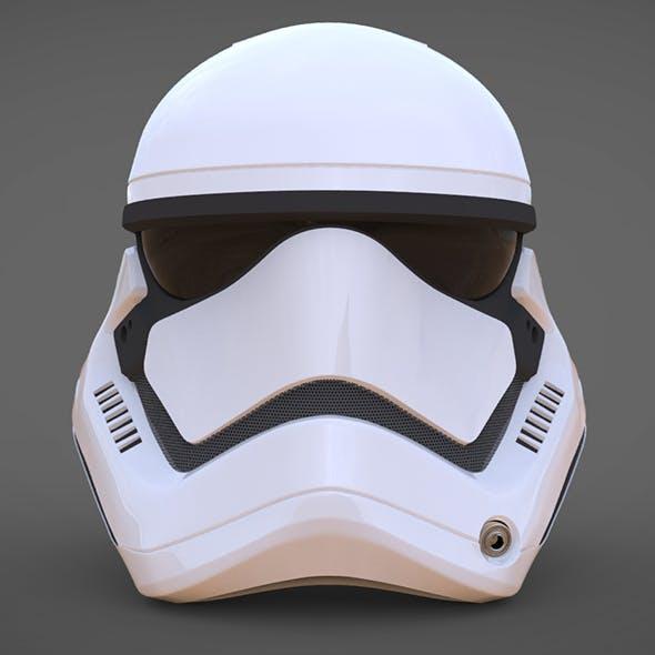 Stormtrooper Helmet Star Wars 7 The Force Awakens - 3DOcean Item for Sale
