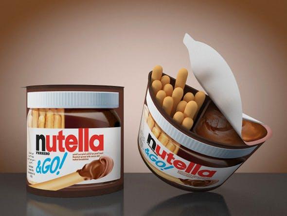 Nutella & Go - 3DOcean Item for Sale