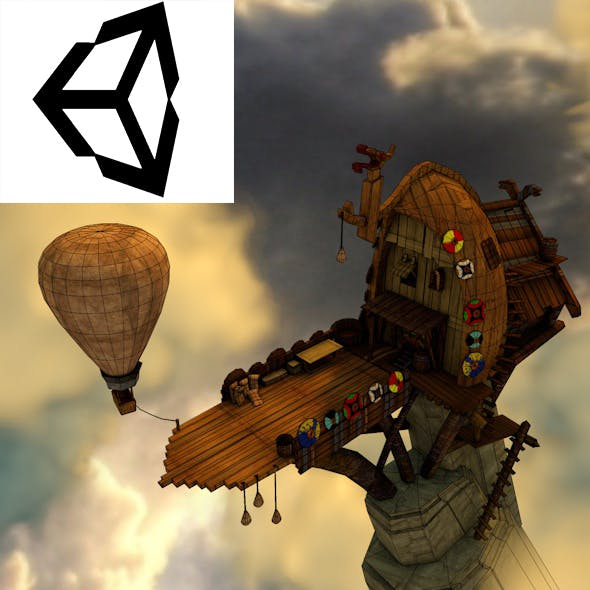 Viking House - 3DOcean Item for Sale