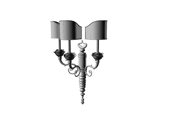 applique decò style - 3DOcean Item for Sale