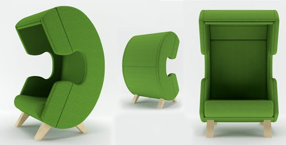 First Call chair - 3DOcean Item for Sale