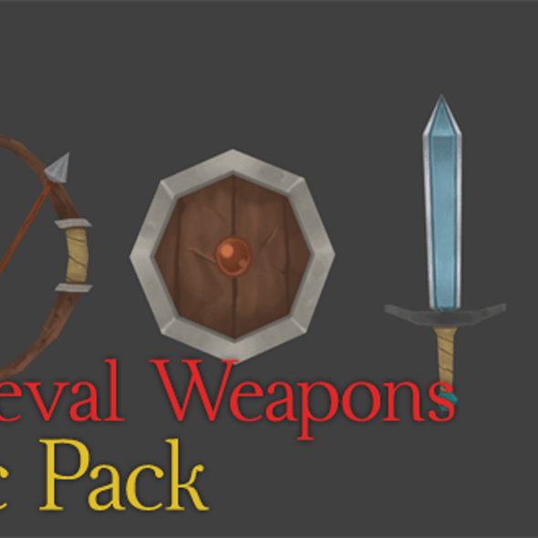Medieval Weapons | Basic Pack