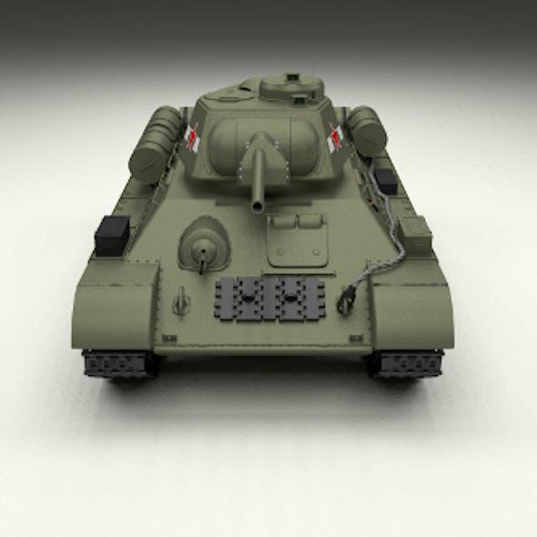 T34/76 Tank