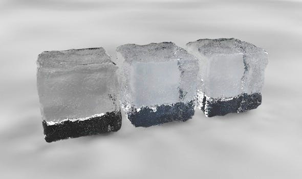 Ice material 3 pack - 3DOcean Item for Sale