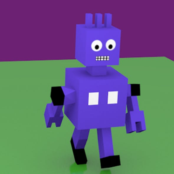 Animated Robot for games