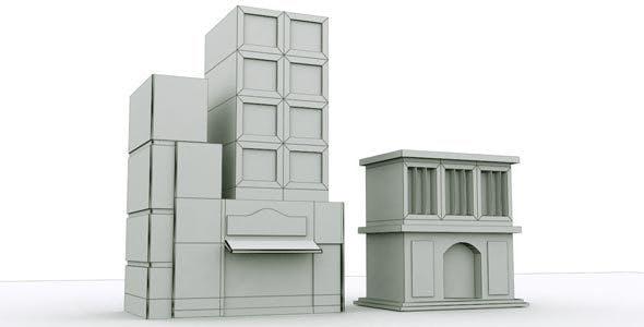 City Building 1 - 3DOcean Item for Sale