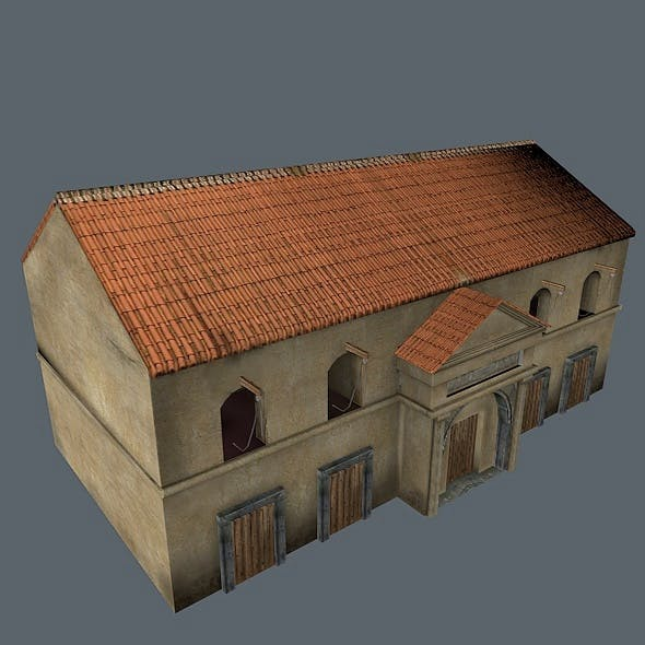 Roman Building - 3DOcean Item for Sale